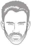 Beard Types - Short Stubble Scruff Beard - Mossy Beard