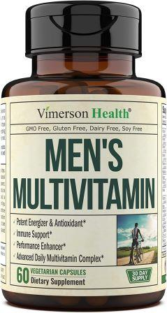 Beard Growth Stages - Men's Multivitamin