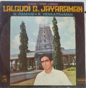 Classical Music on Violin LP Vinyl Record by Lalgudi G Jayaraman www.mossymart.com