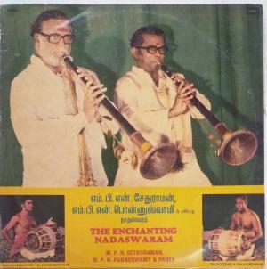 The Enchanting Nadaswaram LP Vinyl Record by MPN Ponnuswamy www.mossymart.com