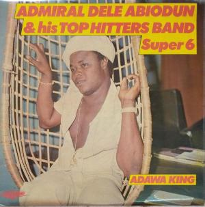 Admiral Dele Abiodun & his Top Hitters Band Super 8 LP VInyl Record www.mossymart.com