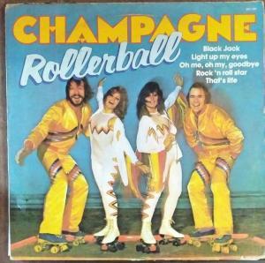 Champagne Rollerball LP Vinyl Record www.mossymart.com