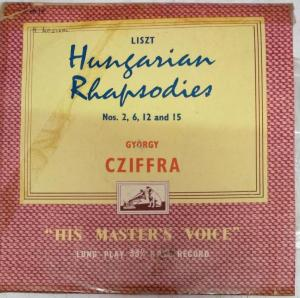 Hangarian Rhapsodies LP Vinyl Record by Ilayaraja www.mossymart.com 1