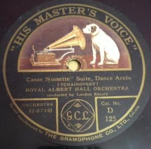 Royal Albert Hall Orchestra 78 RPM Record by Landon Ronald www.mossymart.com