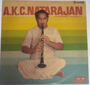 Clarionet Instrumental LP Vinyl Record by A K C Natarajan www.mossymart.com