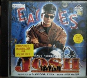 Josh - Hindi Audio CD by Anu Malik - 2 CD Pack - www.mossymart.com (2)