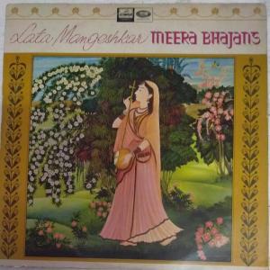 Lata Mangeshkar Meera Bhajans LP Vinyl Record www.mossymart.com