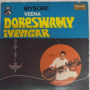 Mysore Veena LP Vinyl Record by Doreswamy Iyengar www.mossymart.com