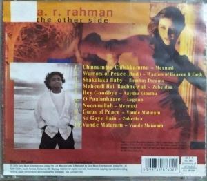 A R Rahman the other side Hindi Film Hits Audio CD www.mossymart.com