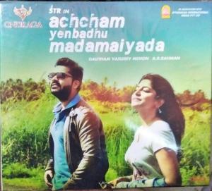 Achcham Yenbadhu Madamaiyada Tamil FIlm Audio CD by A R Rahman www.mossymart.com 1