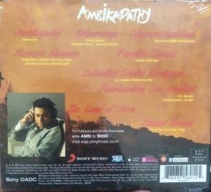 Ambikabathi Tamil Film Audio CD by A R Rahman www.mossymart.com