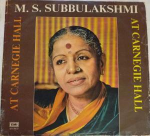 Classical Carnatic Music LP Vinyl Record by M S Subbulakshmi www.mossymart.com