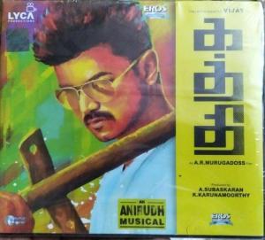 Katthi Tamil FIlm Audio CD by Anirudh www.mossymart.com