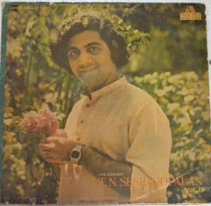 Live Concert of Carnatic Vocal LP Vinyl Record by T N Seshagopalan www.mossymart.com