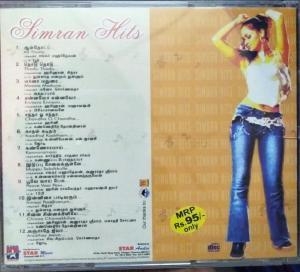 Simran Tamil Film Hits Audio CD www.mossymart.com