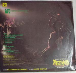 Tezaab Hindi Film LP Vinyl Record by Laxmikant Piyarilal www.mossymart.com