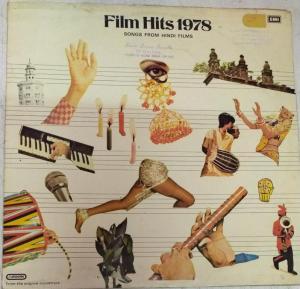 Film Hits 1978 songs from Hindi Films LP VInyl Record www.mossymart.com