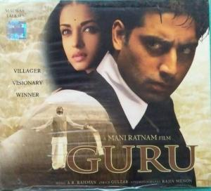 Guru Hindi Film Audio CD by AR Rahman www.mossymart.com