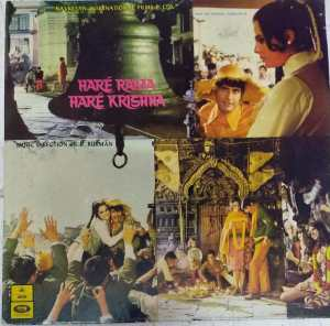 Hare Rama Hare Krishna Hindi Film LP Vinyl Record by R D Burman www.mossymart.com