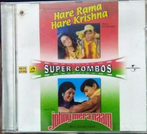 Hare Rama Hare Krishna and Johny mera Naam Hindi FIlm Audio CD by RD Burman www.mossymart.com