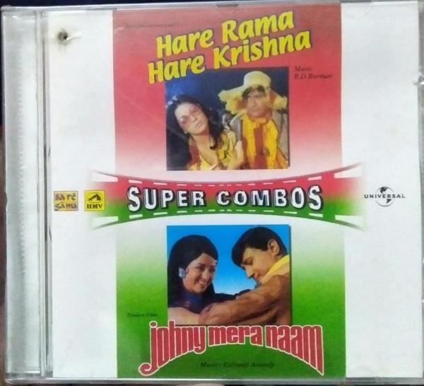 Hare Rama Hare Krishna and Johny mera Naam Hindi FIlm Audio CD by RD Burman www.mossymart.com