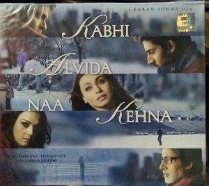 Kabhi Alvida Naa Kehna Hindi FIlm Audio CD www.mossymart.com