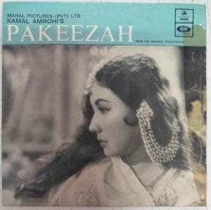 Pakeezah Hindi Film EP VInyl Record by Ghulam Mohammed www.mossymart.com