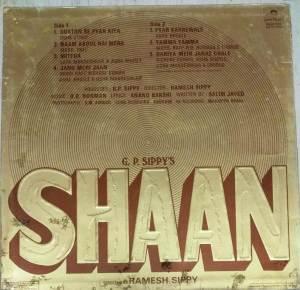 Shaan Hindi Film LP Vinyl Record by R D Burman www.mossymart.com