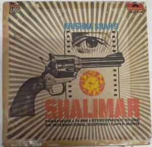 Shalimar Hindi Film EP VInyl Record by R D Burman www.mossymart.com
