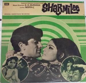 Sharmilee Hindi Film LP Vinyl Record by S D Burman www.mossymart.com