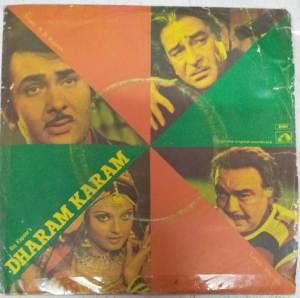 Dharam Karam Hindi Film EP Vinyl Record by R D Burman www.mossymart.com