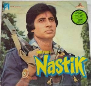 Nastik Hindi Film LP Vinyl Record by Kalyanji Anandji www.mossymart.com