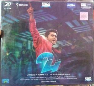24 - Telugu Audio CD by A.R. Rahman - www.mossymart.com