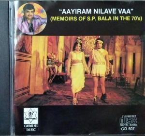 Aayiram Nilave Vaa Tamil Film hits Audio CD by S P Balasubramaniyam www.mossymart.com 1