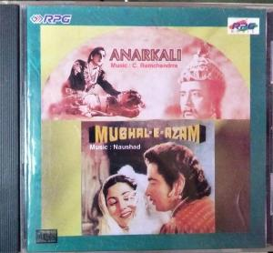 Anarkali - Mughal-E-Azam - Hindi Audio CD by Naushad - C. Ramachandra - www.mossymart.com