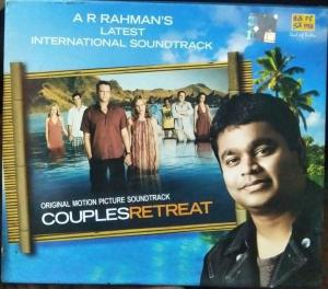 Couples Retreat English Audio CD by AR Rahman www.mossymart.com 1