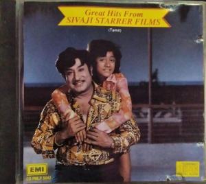Greater Hits from Sivaji Starrer Films - Tamil Audio CD - www.mossymart.com