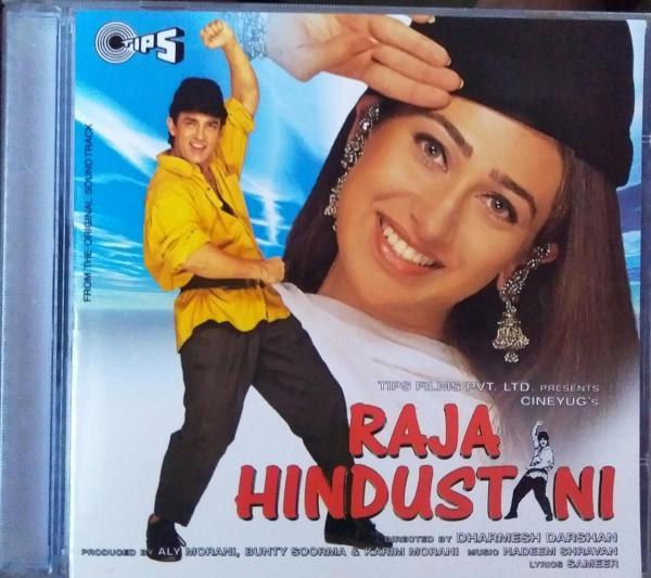 Raja Hindustani - Hindi Audio CD by Nadeem Sharvan - www.mossymart.com