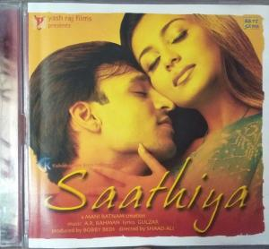 Saathiya - Hindi Audio CD by A.R. Rahman - www.mossymart.com