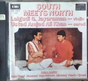 South Meets North by Lalgudi G. Jayaramam - Ustad Amjad Ali Khan - Audio CD - www.mossymart.com