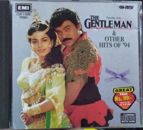 The Gentleman - Hindi Audio CD by Anu Malik - www.mossymart.com