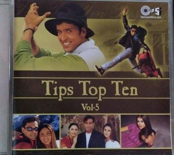 Tips Top 10 Vol-5 - Hindi Audio CD - www.mossymart.com