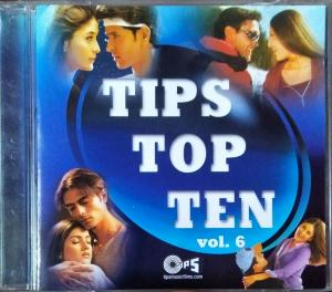 Tips top 10 Vol-6 - Hindi Audio CD - www.mossymart.com