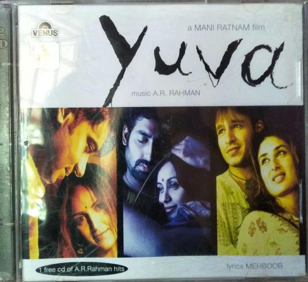 Yuva - Hindi Audio CD (2CD Pack) by A.R. Rahman - www.mossymart.com