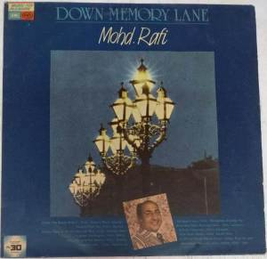 Down Memory Lane Hindi LP Vinyl Record by Mohd. Rafi www.mossymart.com 1