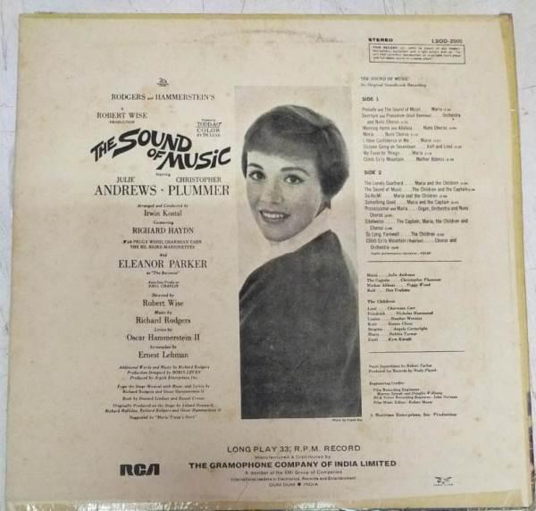 The Sound of Music English LP VInyl Record www.mossymart.com1