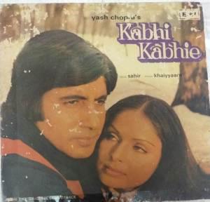 Kabhi Kabhie Hindi film EP Vinyl Record by Khaiyyaam www.mossymart.com 1