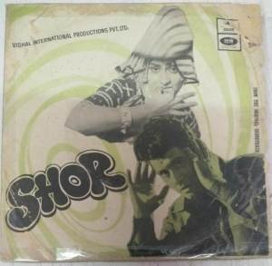 Shor Hindi Film EP Vinyl Record by Laxmikant Pyarelal www.mossymart.com 2