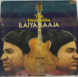 The Inimitable Ilaiyararaja Tamil Film Hits LP Vinyl Record by Ilayaraja www.mossymart.com 1
