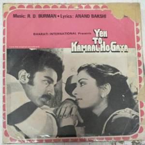 Yen to kamaal ho Gaya Hindi Film EP Vinyl Record by R D Burman www.mossymart.com 2